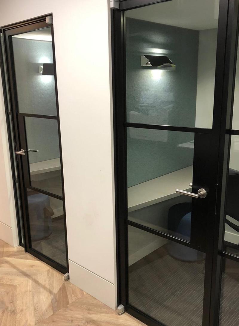 glass door frame
