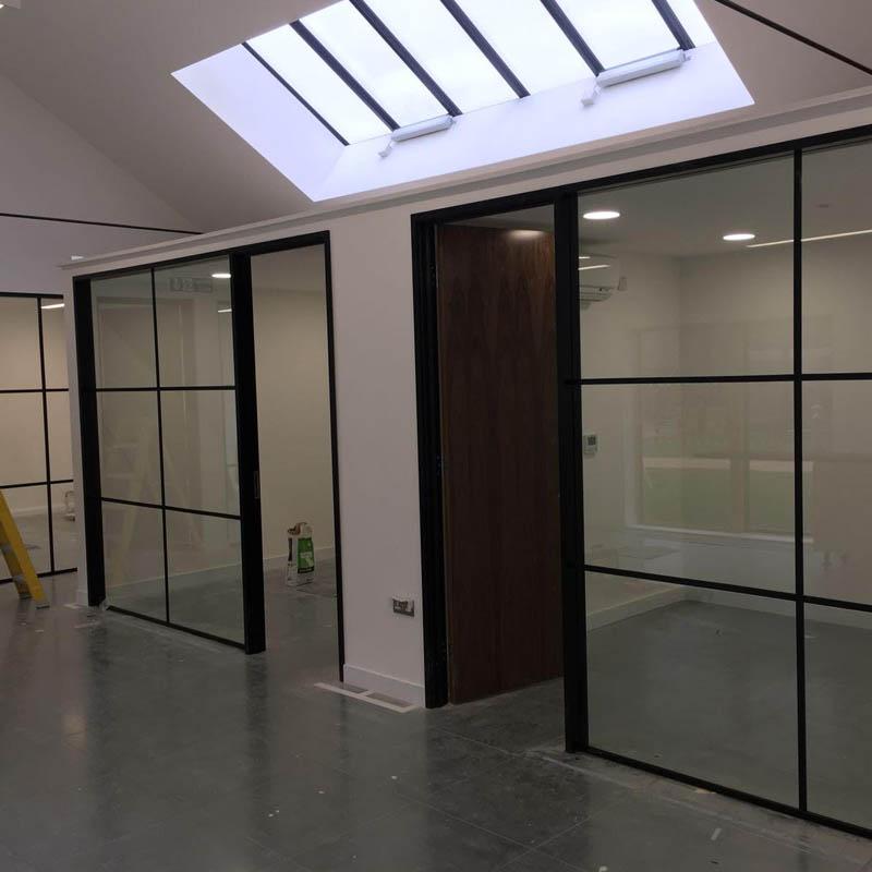 partition glass