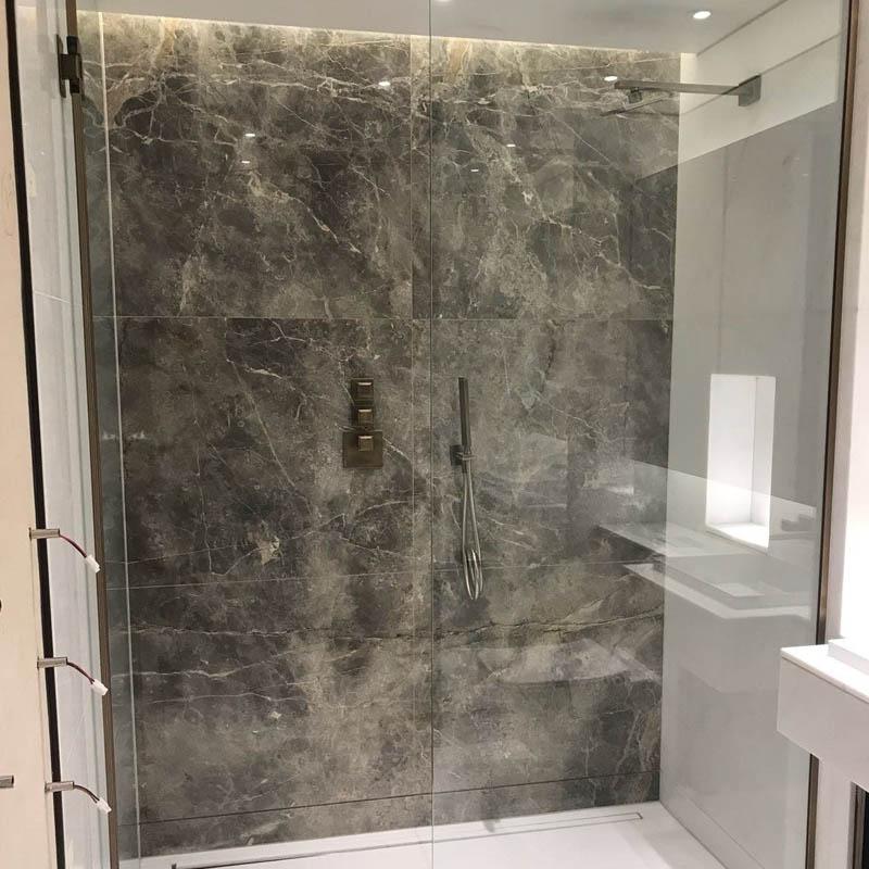 glass partition